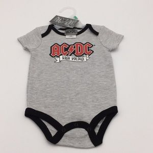 AC/DC High Voltage Infant Bodysuit Romper Shirt